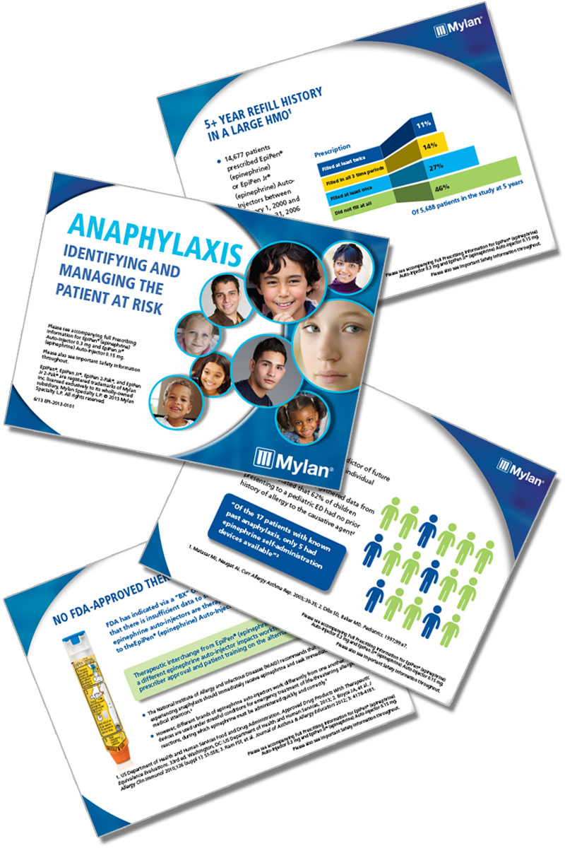 Printed Sales collateral