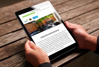 Campbell Ferrara Mobile-Friendly Website